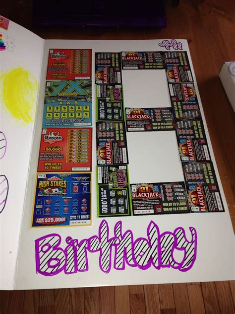 Sc Ch Off Lottery Tickets Great  Ee  Th Ee    Ee  Birthday Ee   Idea