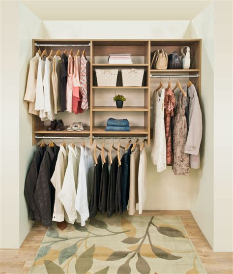 Organized Living Closets by Organized Living Classica Cypress Live Reach In Custom