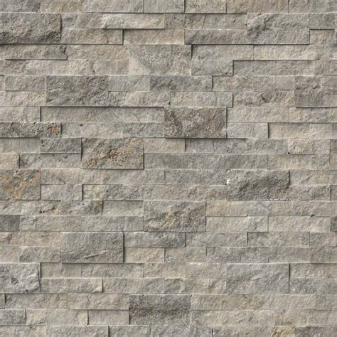 travertine wall from msi stone have sle primarily gray with some