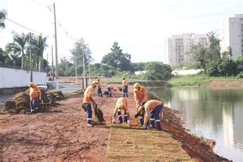Jd Mba Santa Clara by Entorno Da Lagoa Do Jd Santa Clara Do Lago Recebe Plantio