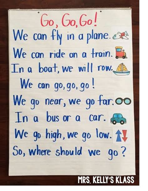 themes about english transportation poem and other fun ideas kinderland