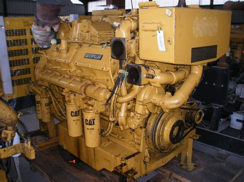 boat mechanic ta high hour runner caterpillar 3412 dita 720hp diesel marine