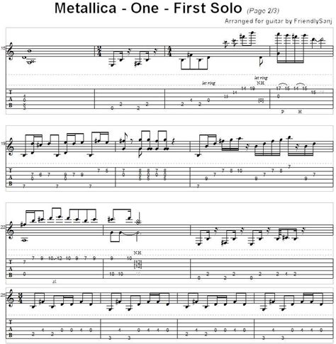 380 best 1 tab images on pinterest guitars music and guitar metallica guitar sheet music metallica guitar and
