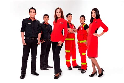 airasia uniform airasia announce new gear for their ground staff
