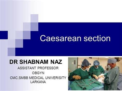 cesarean section procedure pdf caesarean section by dr shabnam naz authorstream
