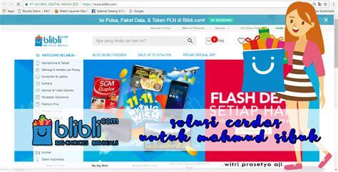 Blibli Toko Online | blibli com solusi cerdas untuk mahmud sibuk diajengwitri