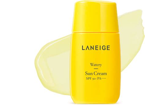 Laneige Sun Watery 50ml skincare 워터리 선 크림 spf50 pa laneige kr