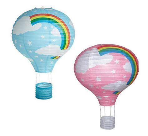 Air Balloon L Shade by 16 Quot Rainbow Air Balloon Paper Lantern Lshade Ceiling Light Shade Ebay