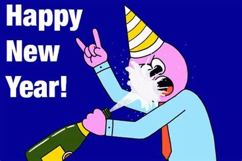 funny happy new year flirt happy new year gif happynewyear discover gifs