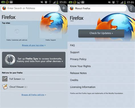 android firefox android apps firefox 14 for android 正式推出囉 techorz 囧科技