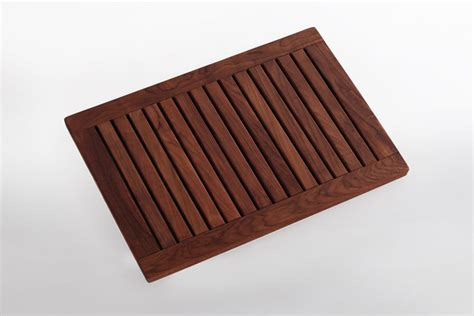 Teak Shower Mat by Teak Shower Mat 23 6 17 7x In With Frame Nordic Style Llc