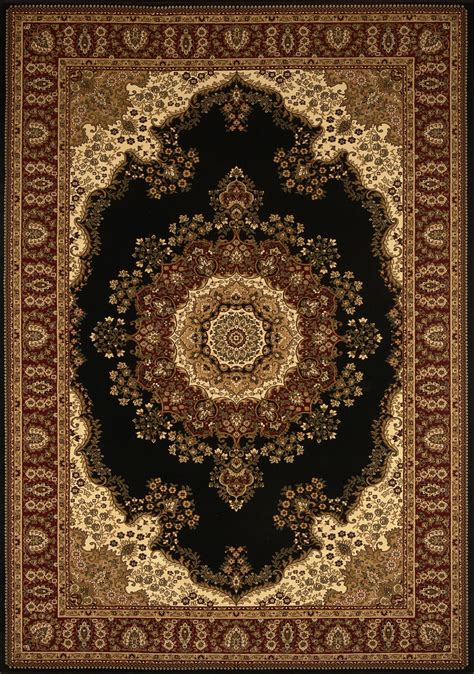 home dynamix area rugs regency rug 8329 450 black