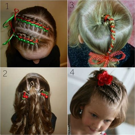 diy hairstyles for christmas 22 cute diy christmas hairstyles for 2017 trending