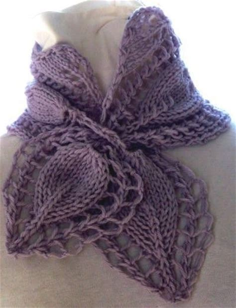 how to knit a scarf left handed scarf knitting pattern