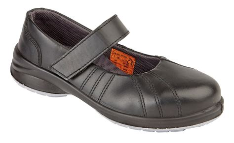 himalayan safety shoe steel toe cap slip on work