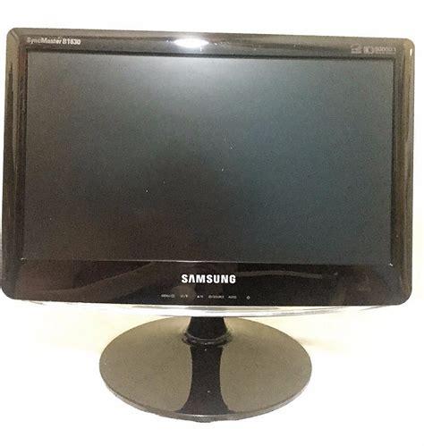Monitor Lcd Samsung B1630 Monitor Samsung Lcd 15 6 Syncmaster B1630 Preto R 139 90 Em Mercado Livre
