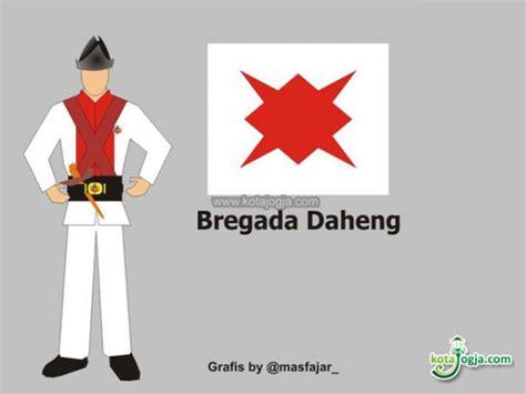 Bendera Merah Putih Klebet wisata kung bregada kraton kotajogja
