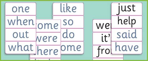 4 Letter Words Ks1 phase 4 decodable and tricky word cards free early
