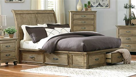 driftwood bedroom furniture homelegance sylvania platform bedroom set driftwood