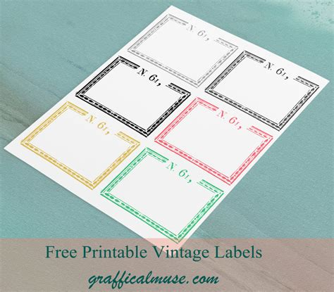 printable label sheets vintage labels archives the graffical muse
