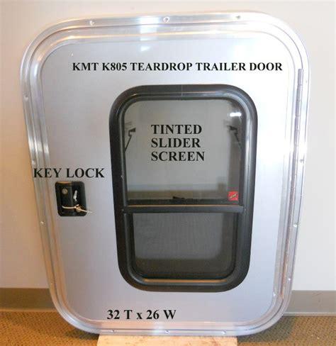 Rv Windows And Doors by 6 Tear Drop Enclosed Trailer Doors