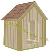 dog house roof plans gable roof dog house plans