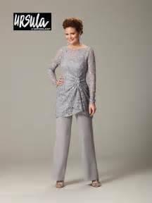 Ursula 43177 plus size lace mothers wedding pant suit french novelty