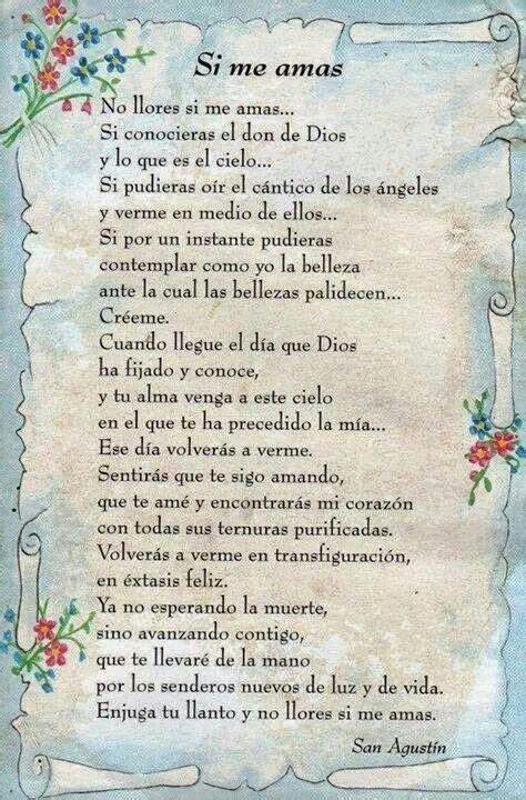 carta para una madre que ha fallecido si me amas para mis angeles en el cielo pinterest