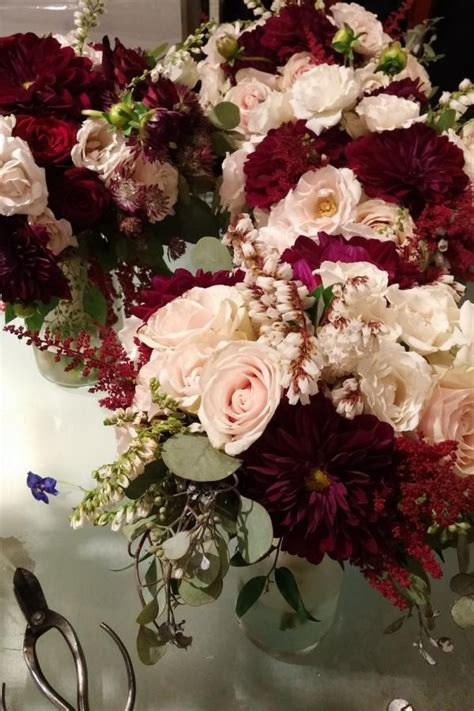 Bridal Bouquets Near Me by Burgundy Vinca