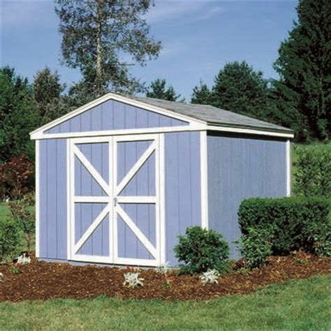 Wood Storage Shed Kits by Handy Home Somerset 10 215 8 Wood Storage Shed Kit Nw