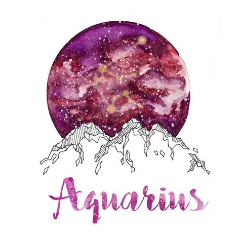 watercolor tattoo zodiac best 25 aquarius ideas on nymphs water