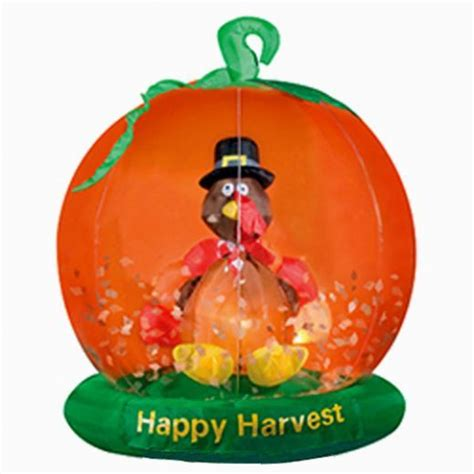 outdoor inflatable thanksgiving yard decorations turkey