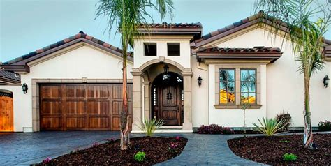 Spanish Style House Plans With Interior Courtyard facades amp entries general contractor home builder