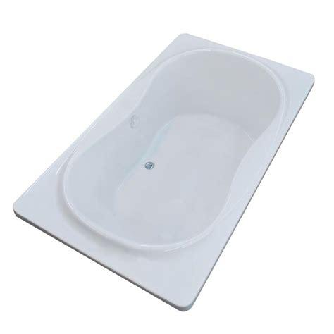 center drain bathtubs hydro systems studio hourglass 6 ft center drain bathtub