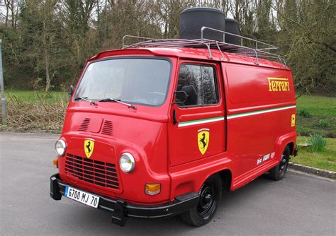 Is This The Coolest Ferrari Van Ever My Car Heaven