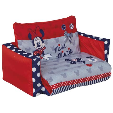 minnie mouse flip open sofa minnie mouse flip out sofa new boxed disney official ebay