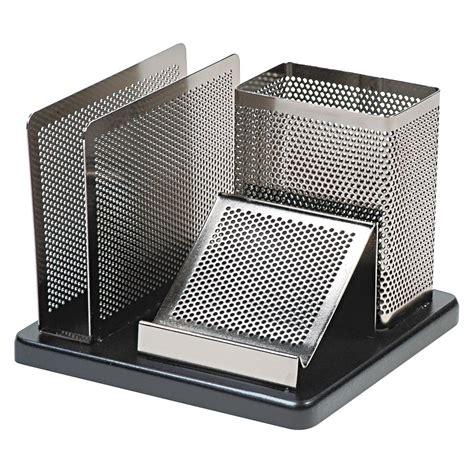 metal desk organizer rolodex distinctions desk organizer metal black