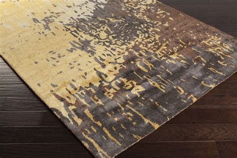 Area Rugs Closeout Surya Serenade Srd 2002 Gold Charcoal Taupe Closeout Area Rug Fall 2015