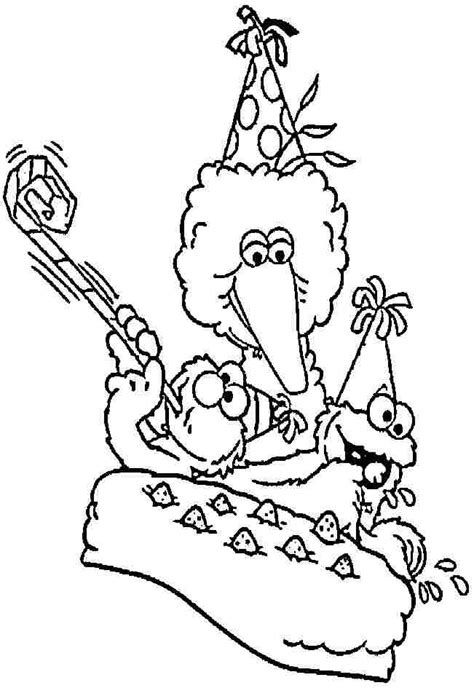 sesame street character coloring pages az coloring pages