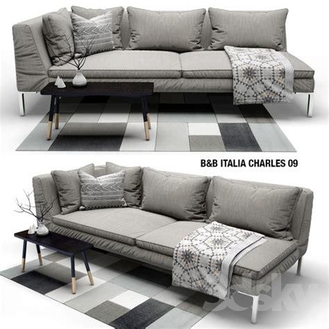 b and b italia charles sofa 3d models sofa sofa b b italia charles