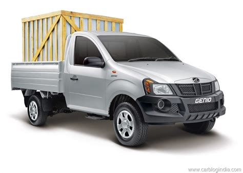 mahindra genio price mahindra genio small truck price features specs details