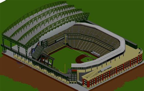 minecraft sports stadium baseball stadium safeco field minecraft project
