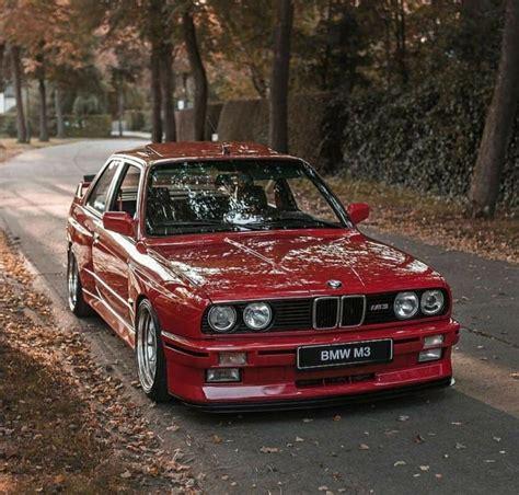 bmw e30 m3 red euro bmw e30 m3 bmw e30 bmw classic