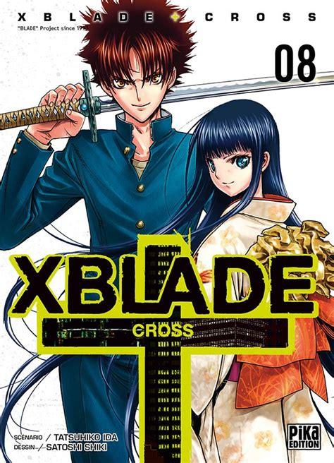 X Blade Cross 8eps By Shiki Satoshi Tamat xblade cross vol 8