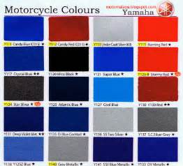 motorcycle paint colors honda motorcycle paint color chart car interior design