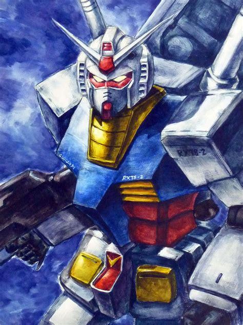 Hanger Anime Gundam Rx78 mobile suit gundam rx 78 2 by impelsa on deviantart