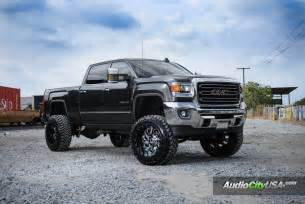Gmc Truck Custom Wheels 22x14 Fuel Cleaver Wheels Custom 2 Rims On 2015 Gmc