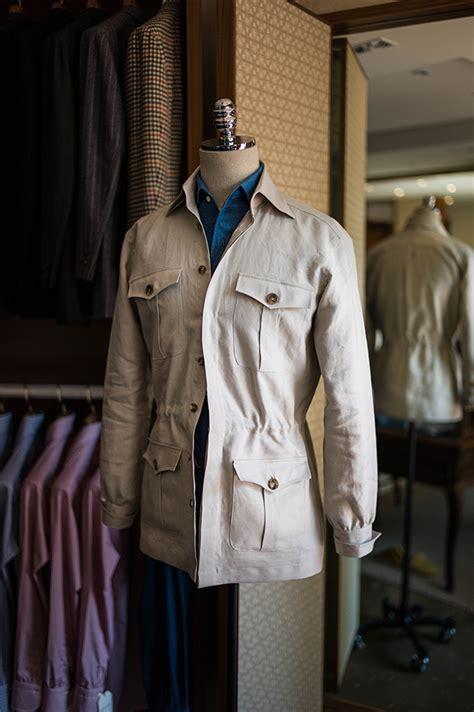 Jacket Safari safari jacket mtm blue loafers