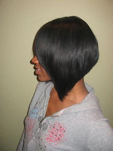 black trendy bob hairstyle