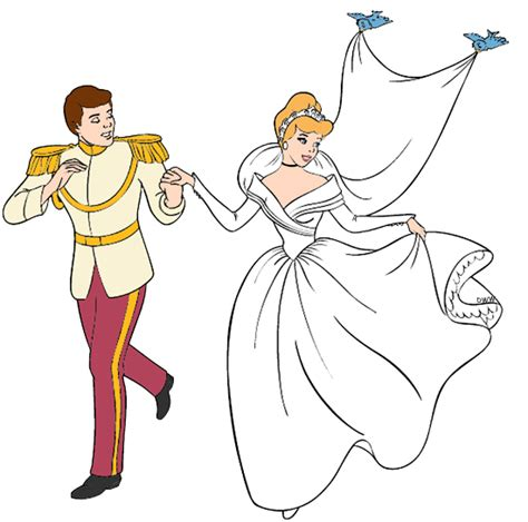 Cinderella Wedding Dress Animation by Cinderella Clipart Wedding Clipart Collection Prince
